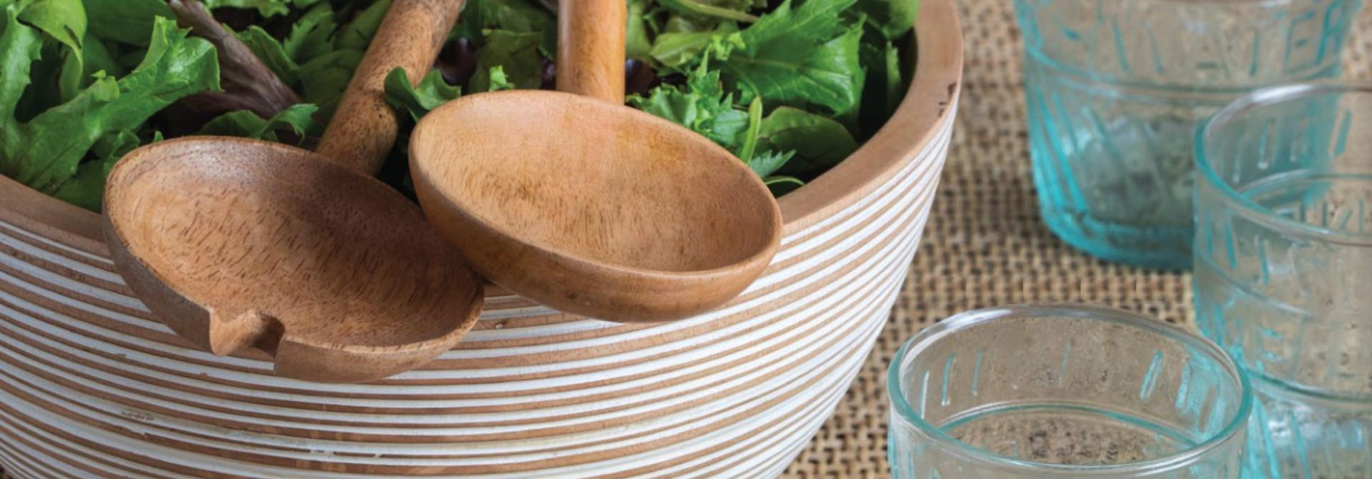 Serving Dishes + Salad Bowls