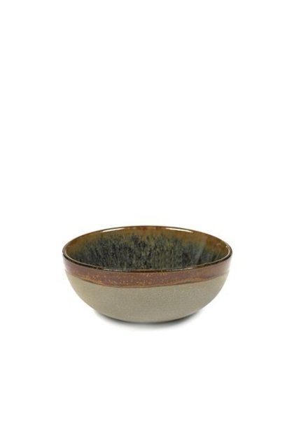 "4.5"" Ceramic Bowl - Indi Grey"