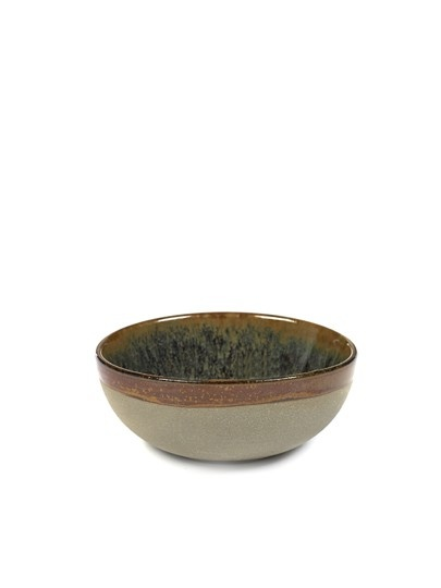 "4.5"" Ceramic Bowl - Indi Grey-1"