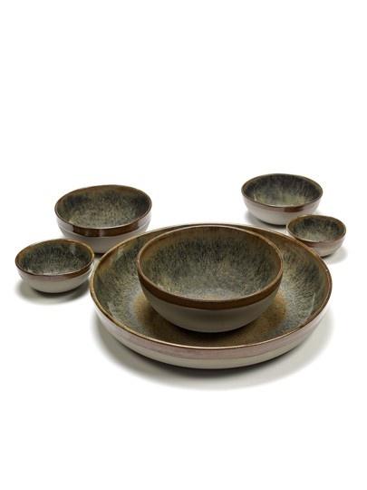 "4.5"" Ceramic Bowl - Indi Grey-2"