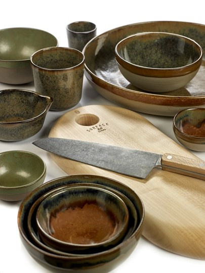 "4.5"" Ceramic Bowl - Indi Grey-3"