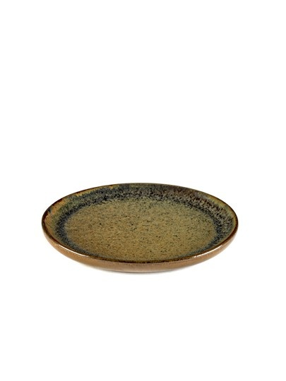 "6"" Ceramic Plate - Indi Grey-1"