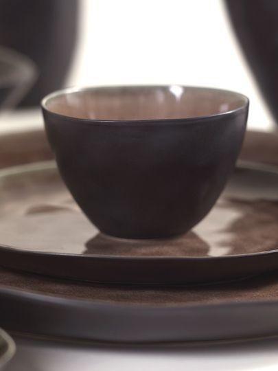 """6"""" Ceramic Bowl - Brown-2"""