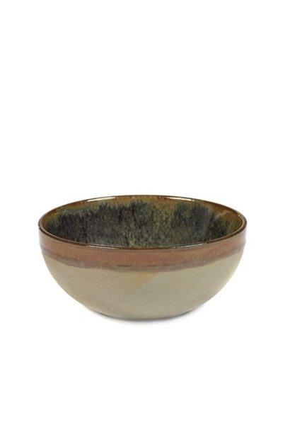 "6"" Ceramic Bowl - Indi Grey"
