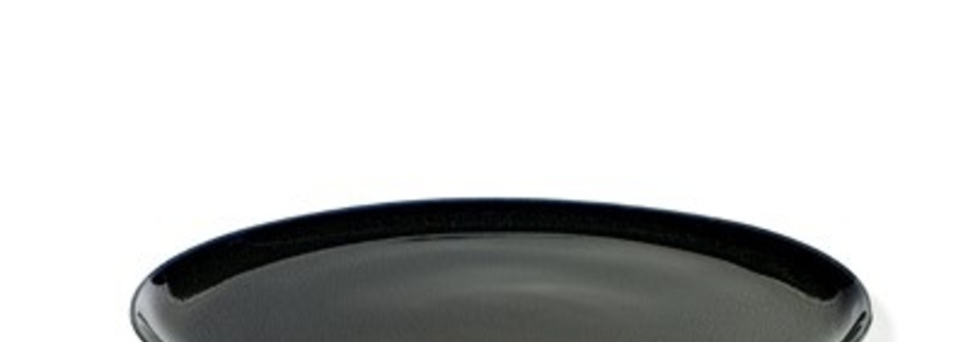 "8.75"" Ceramic Plate - Dark Blue"