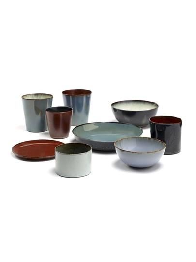 "8.75"" Ceramic Plate - Dark Blue-2"