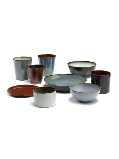 "10"" Ceramic Plate - Dark Blue-3"
