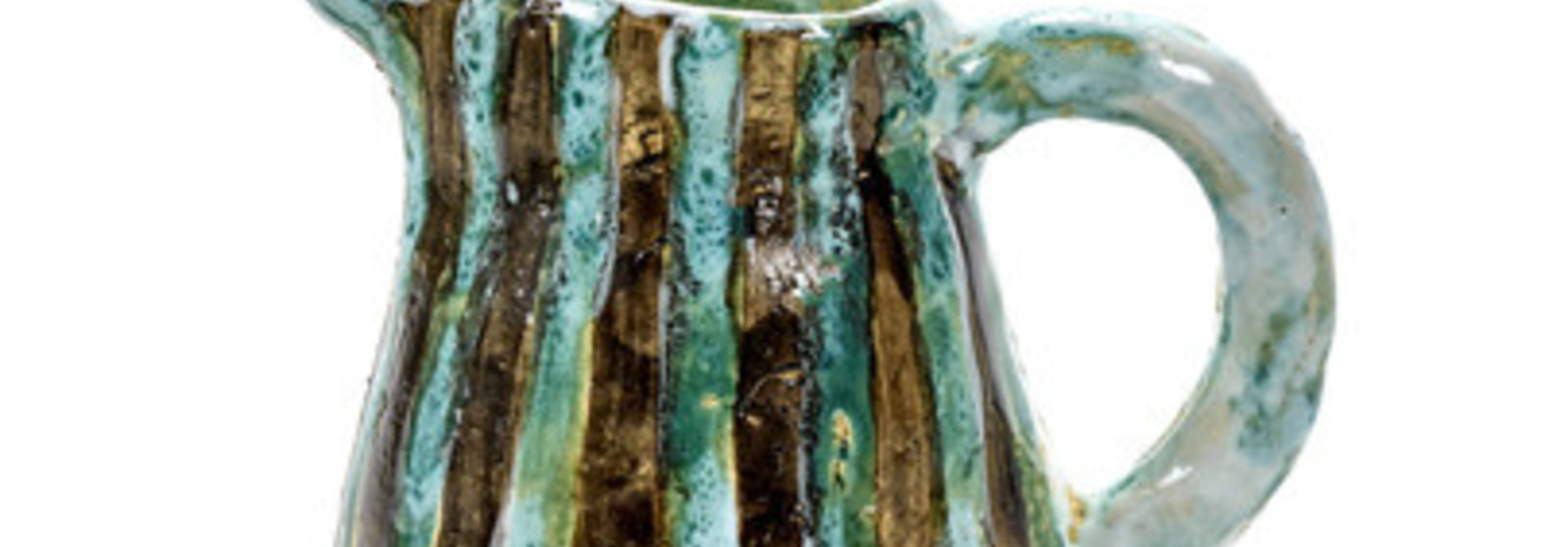 Oui Oui Decorative Jug - Blue/Green