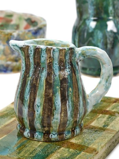 Oui Oui Decorative Jug - Blue/Green-2