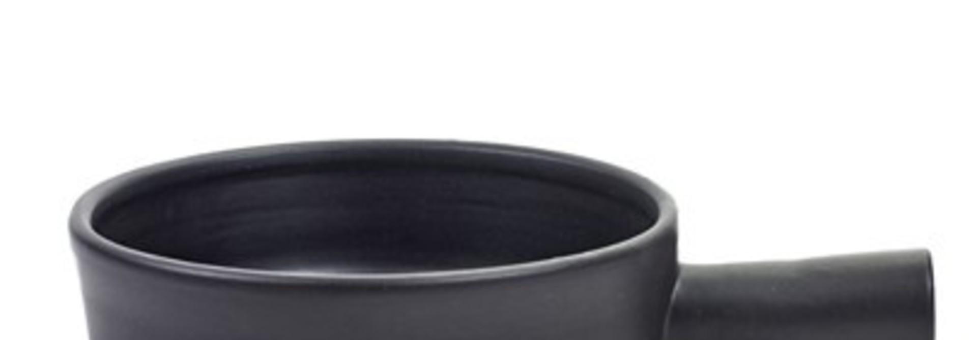 "8.25"" Terracotta Pan - Black"
