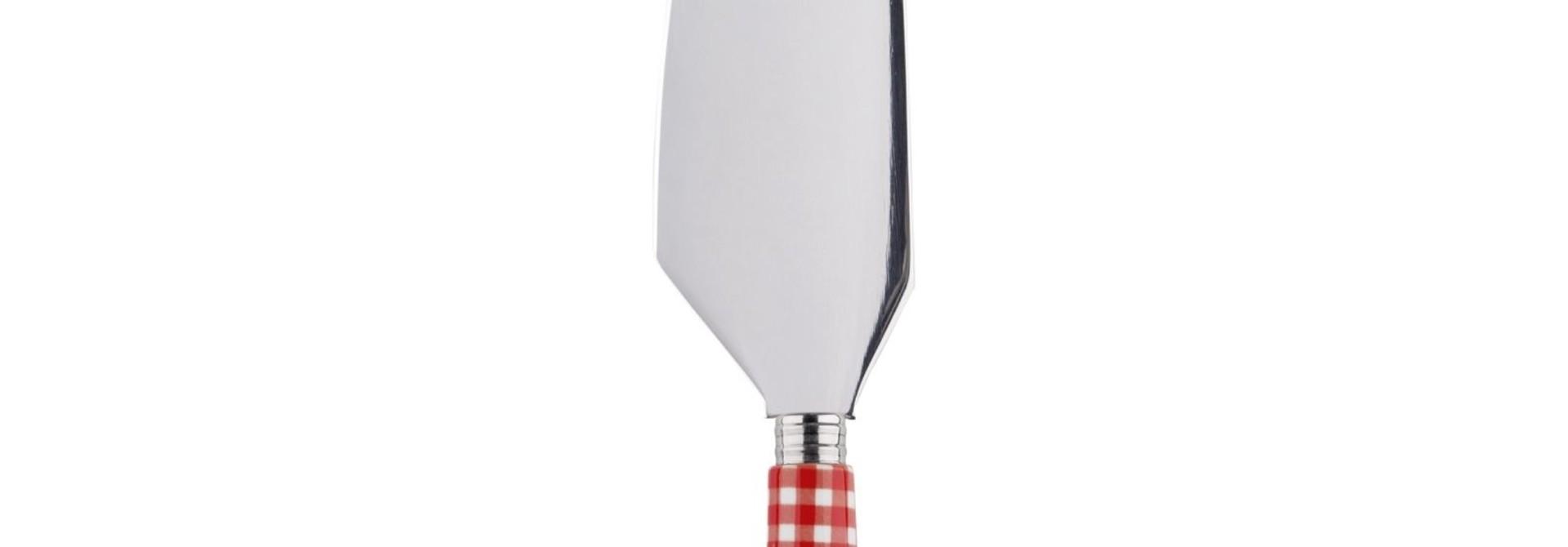 Pie Server - Vichy Red