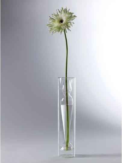 """16"""" Slim Deco Glass Vase-1"""