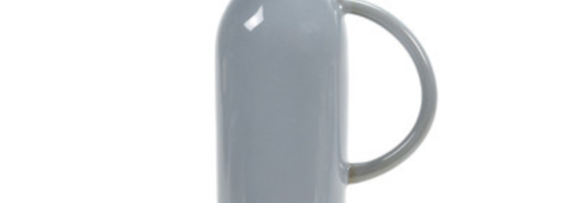 34 oz. Ceramic Jug/Stopper - Smokey Blue