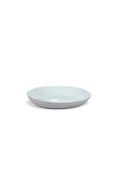 "12"" Ceramic Serving Dish - Light Blue"