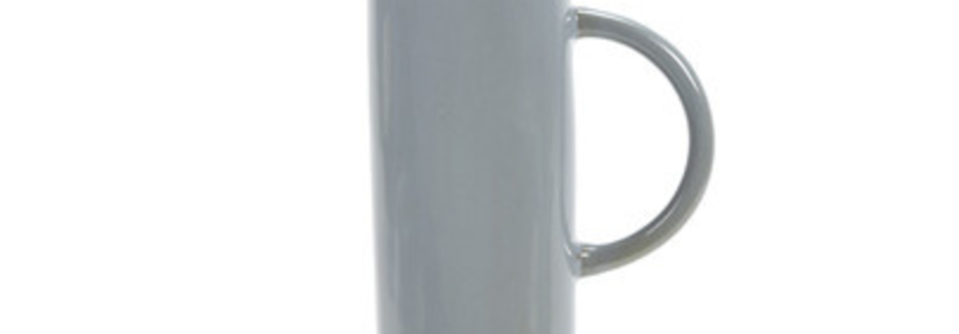 40 oz. Ceramic Jug/Stopper - Smokey Blue