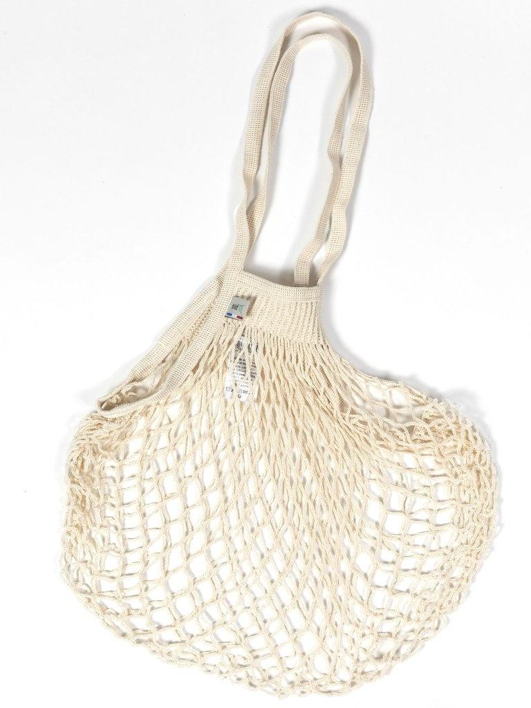 Filt Woven Cotton Bag - Cream-2