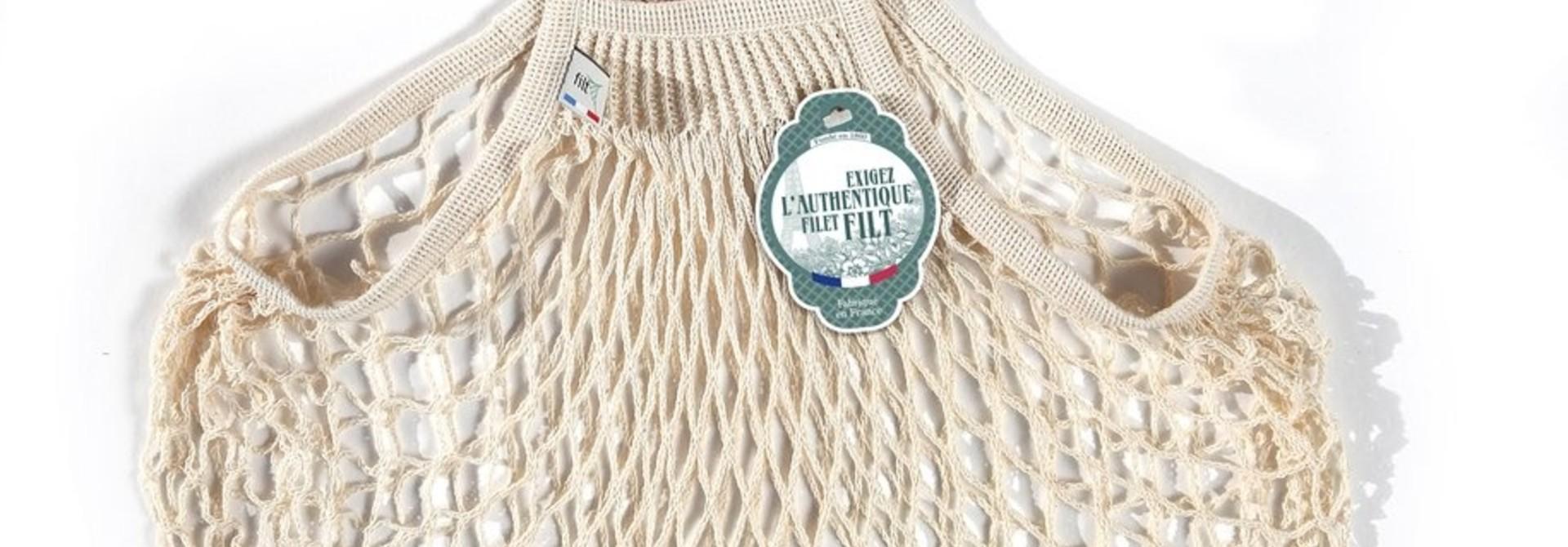 Filt Woven Cotton Bag - Cream