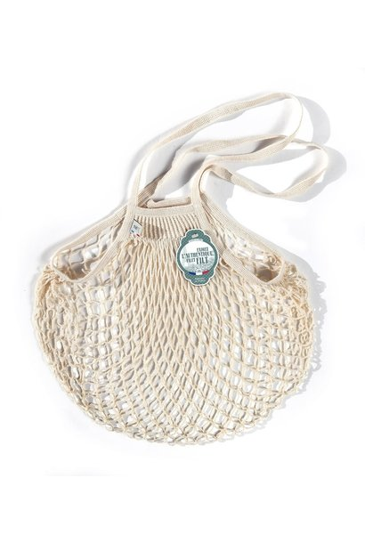 Filt Woven Cotton Bag - Cream