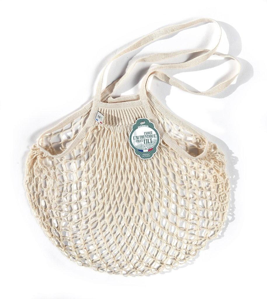Filt Woven Cotton Bag - Cream-1
