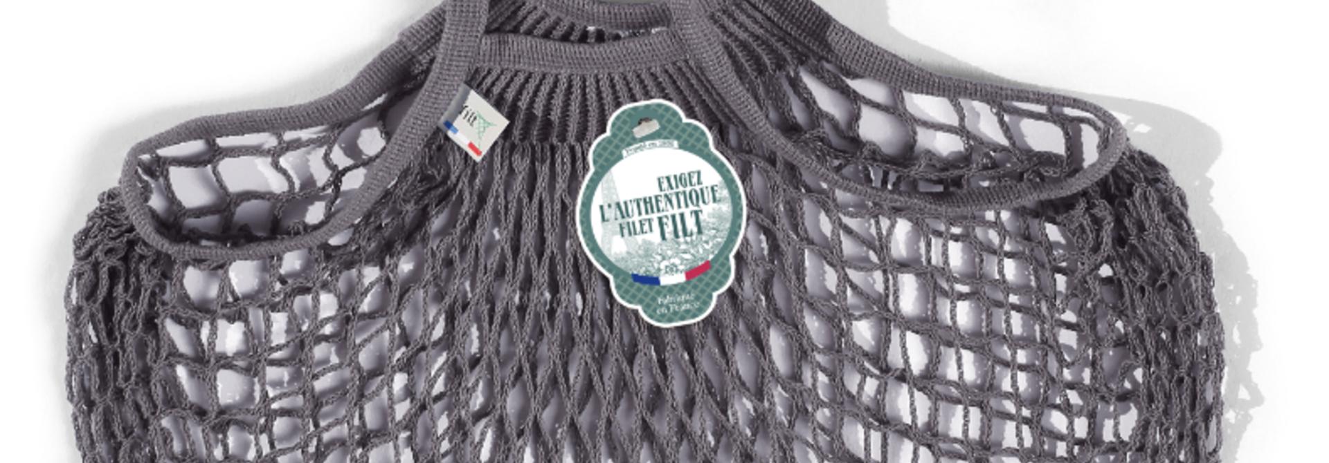 Filt Woven Cotton Bag - Grey