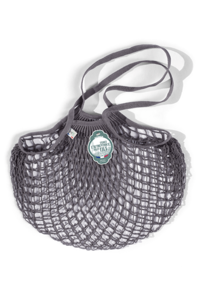 Filt Woven Cotton Bag - Grey