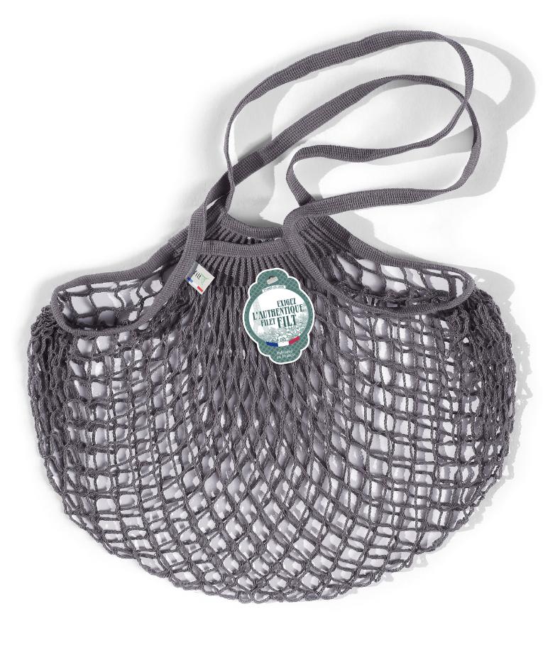 Filt Woven Cotton Bag - Grey-1