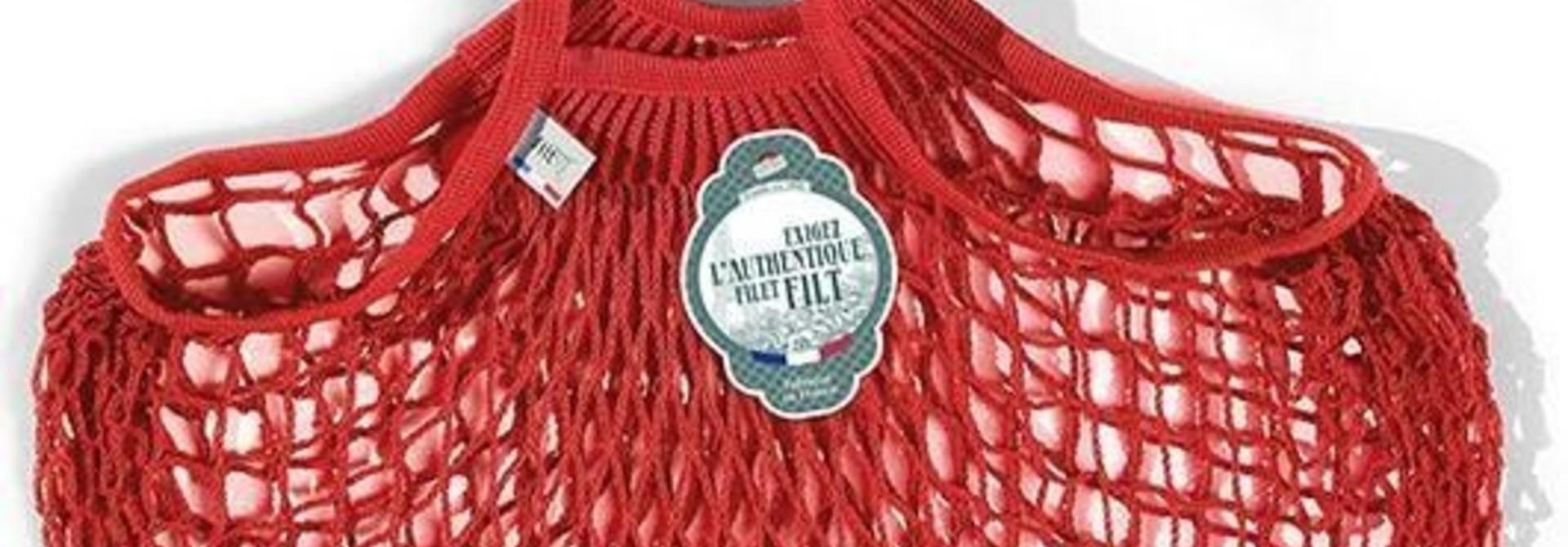 Filt Woven Cotton Bag - Poppy