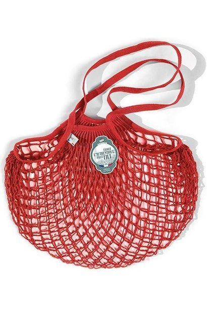 Filt Woven Cotton Bag - Poppy