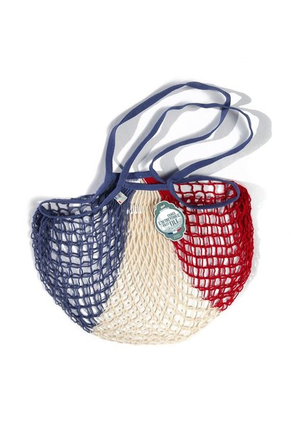 Filt Woven Cotton Bag - French Flag