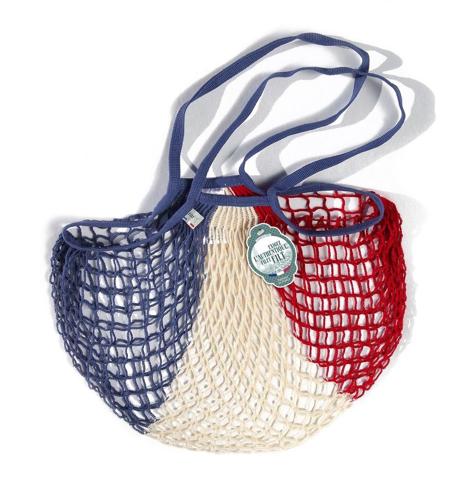Filt Woven Cotton Bag - French Flag-1