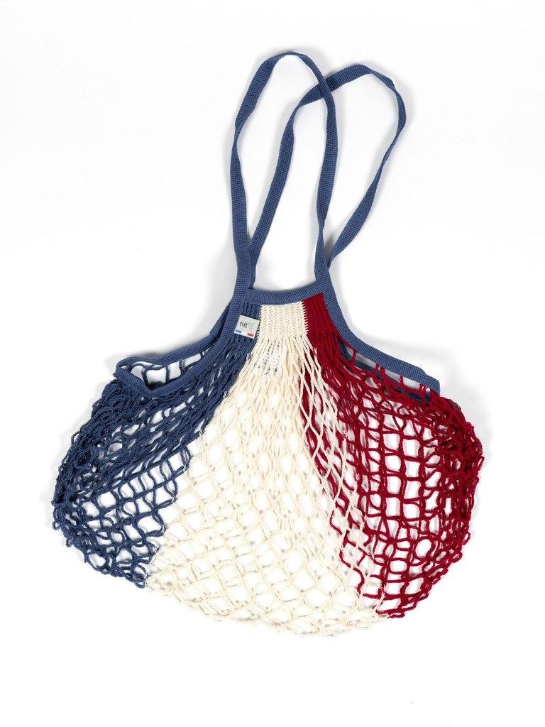 Filt Woven Cotton Bag - French Flag-2