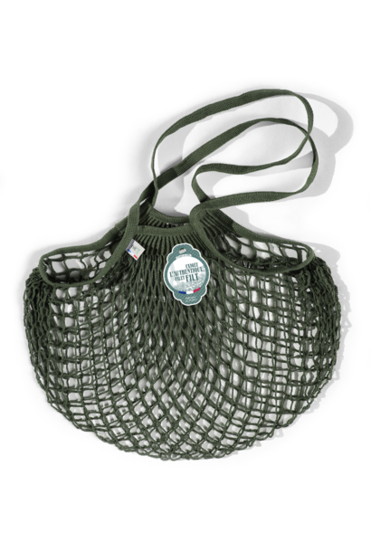 Filt Woven Cotton Bag - Army Green