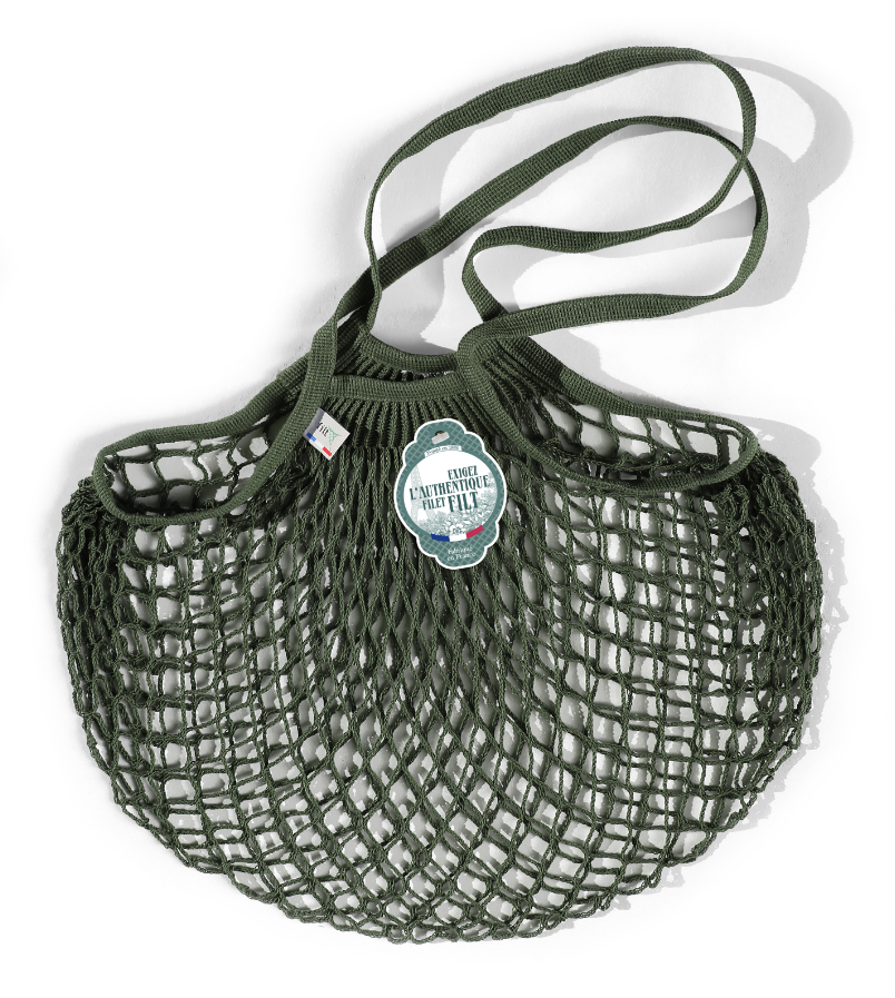 Filt Woven Cotton Bag - Army Green-1