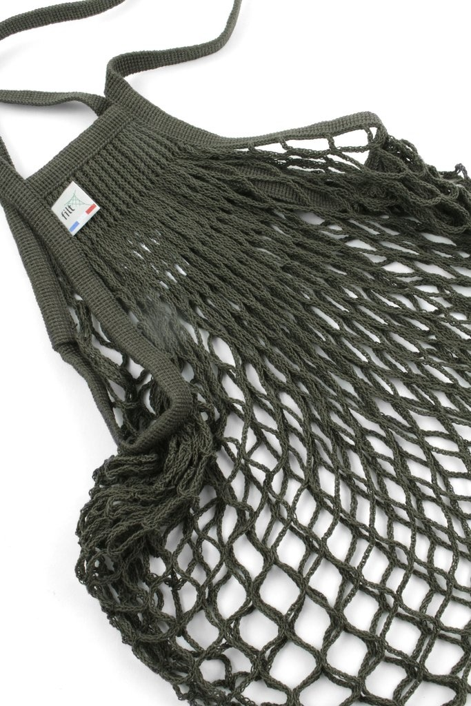 Filt Woven Cotton Bag - Army Green-2