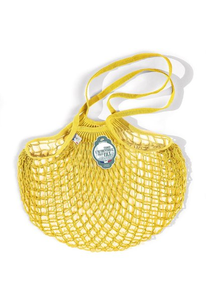 Filt Woven Cotton Bag - Yellow