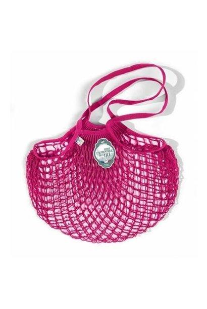 Filt Woven Cotton Bag - Fuschia