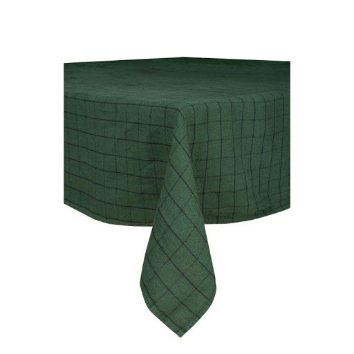 Chieti Tablecloth - Forest Green-1