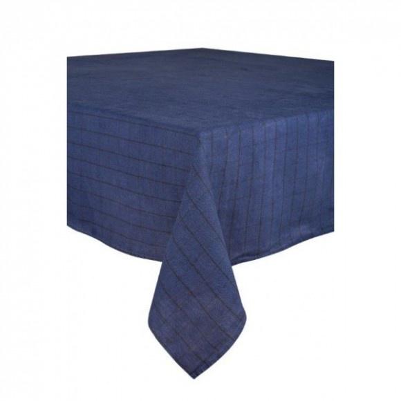 Chieti Tablecloth - Indigo-1