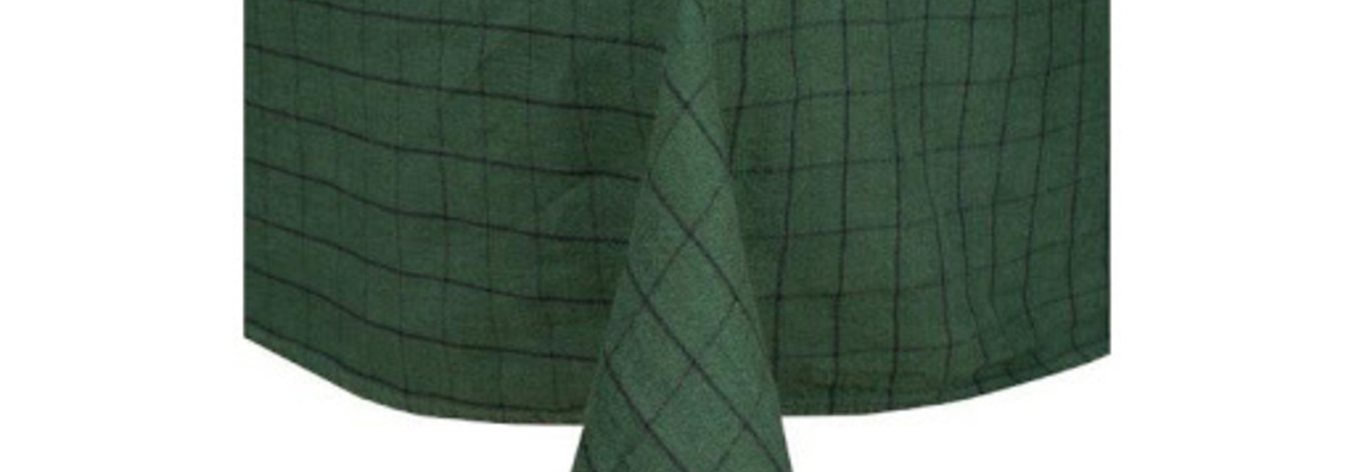 Chieti Tablecloth - Forest Green