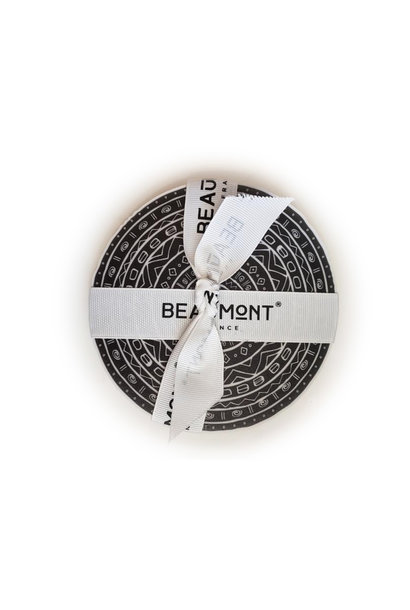 "5"" Round Coaster - Black/White"