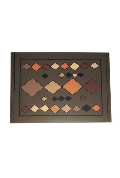 Rectangular Placemat - Terra Diamond