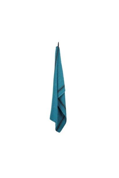 Olbia Tea Towel - Vivario Turq