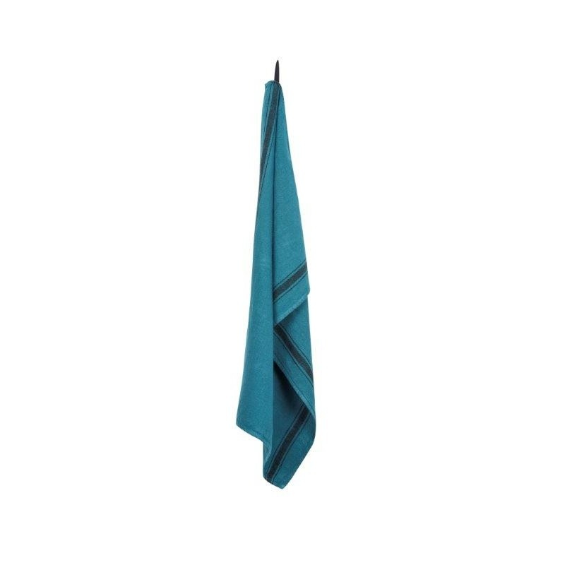 Olbia Tea Towel - Vivario Turq-2