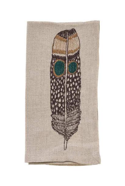 Owl Feather Napkin