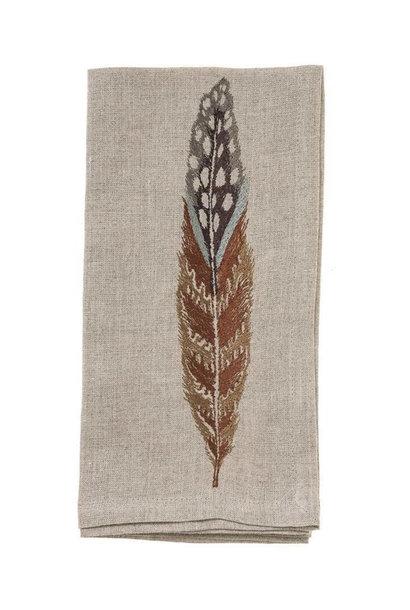 Fowl Feather Napkin