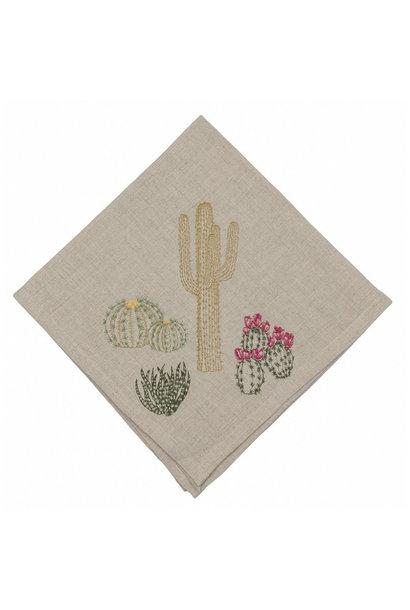 Cacti Napkin