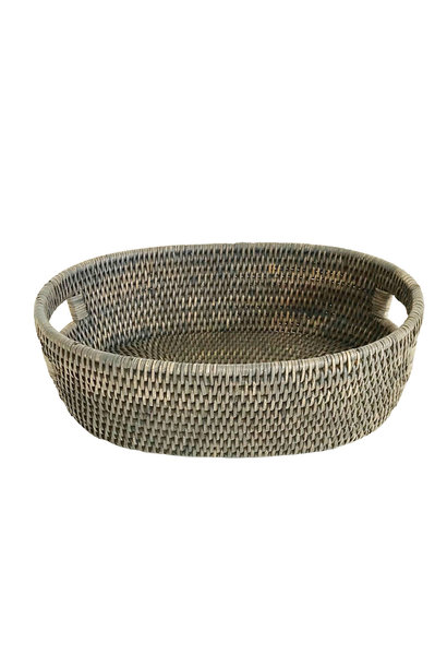Oval Bread Tray w/Handles