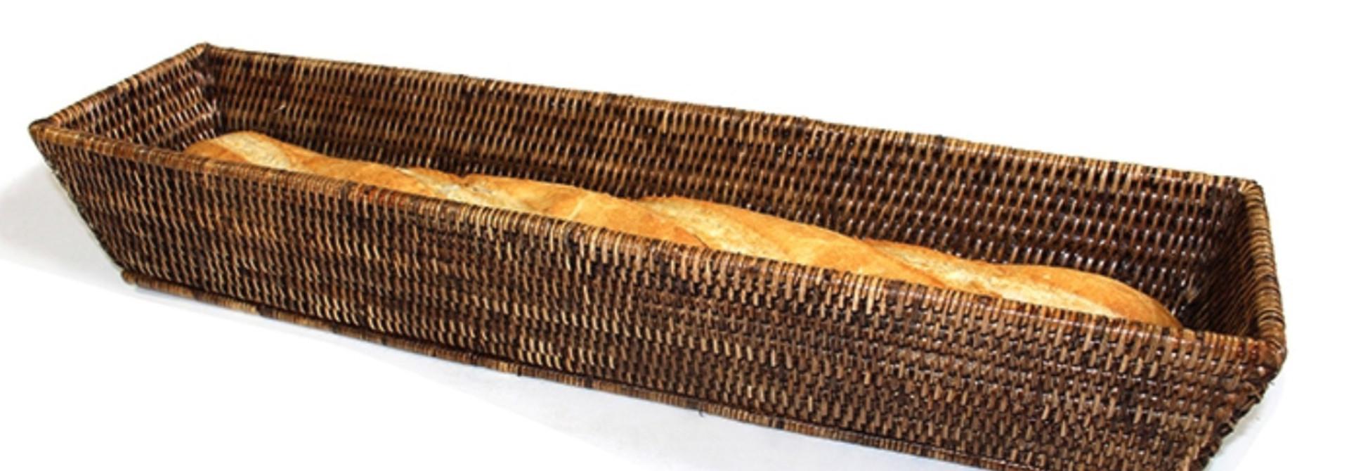 Rectangular French Bread Basket