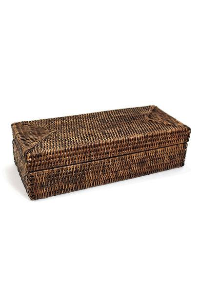 Rectangular Long Box w/Lid