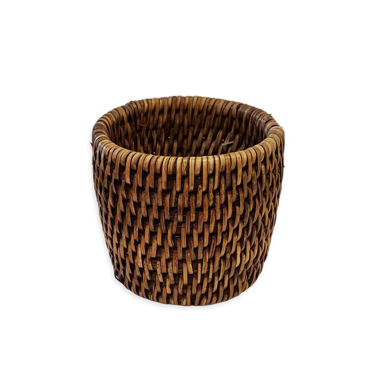 """3"""" Round Storage Basket-1"""